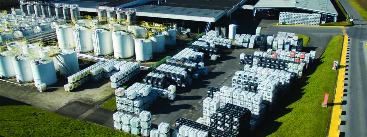 Tank park warehousing storage repackaging services