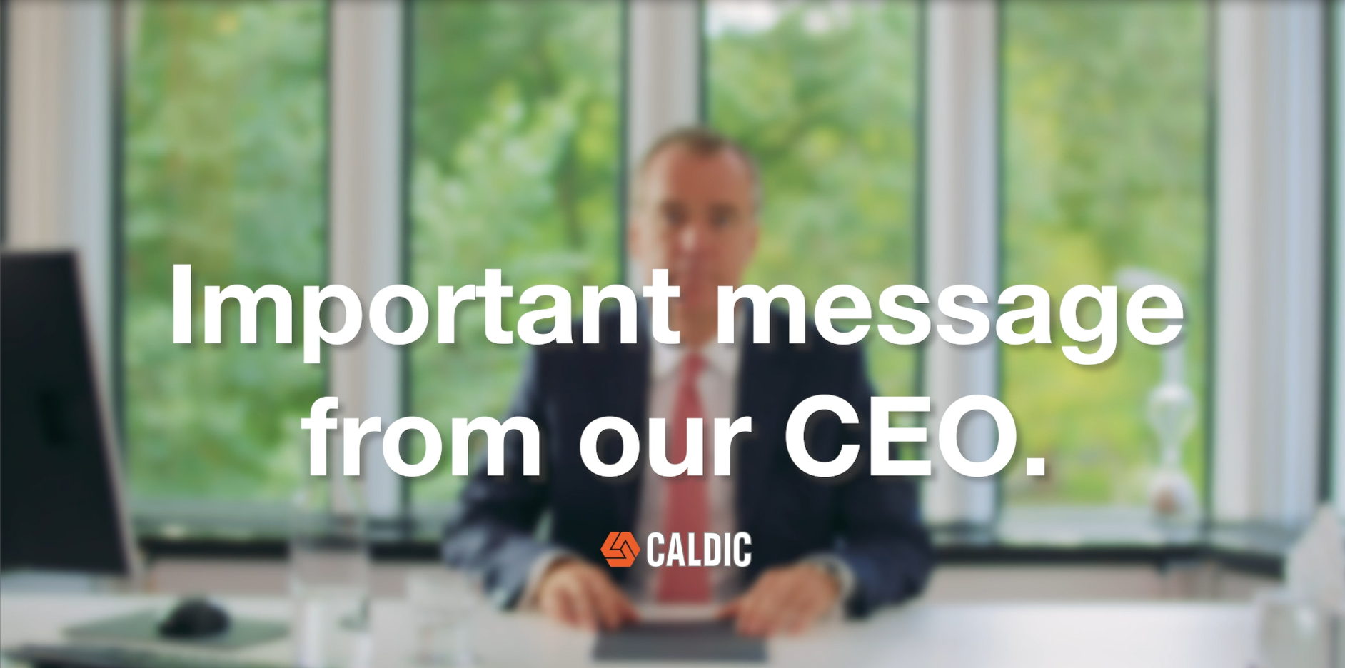 Important message from our CEO - Caldic 50