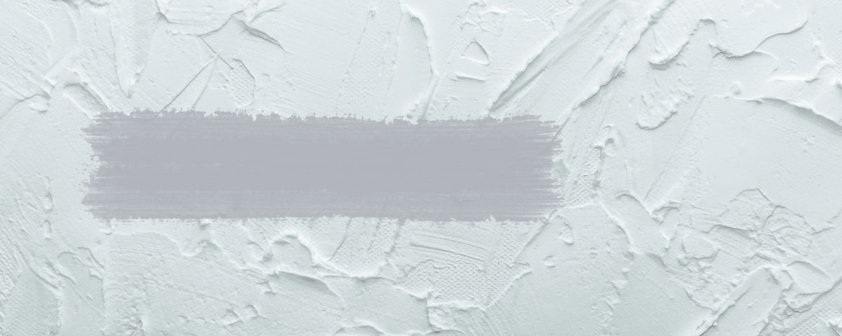 White painted wall with titanium dioxide pigments